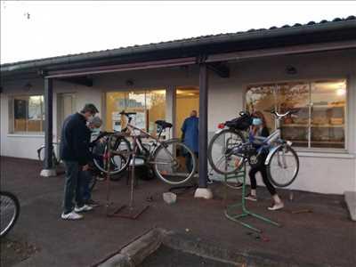 Photo de réparation de bicyclette n°247 dans le département 87 par Association VéliVélo Limoges