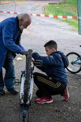Exemple de réparation de bicyclette n°249 à Limoges par Association VéliVélo Limoges