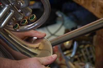 Exemple de réparation d'instrument de musique n°2493 à Bourges par Atelier les 4 vents