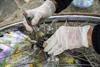 Photo de réparation de bicyclette n°251 dans le département 87 par Association VéliVélo Limoges