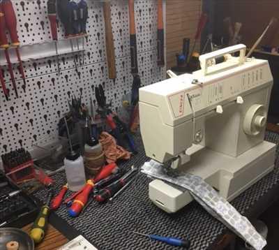 Exemple de réparation de machine à coudre électrique et électronique n°2533 à Agen par Jean-Maurice VANDUELE