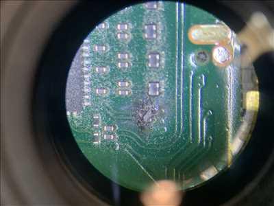 Photo de réparation de carte électronique n°2550 à Massy par le réparateur OHMYPHONE