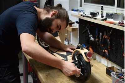 Photo de réparation de trottinette électrique n°2558 à Paris 1er par le réparateur Feexeo
