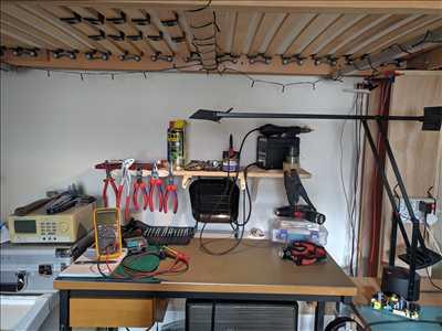 Photo de réparation d'électroménager n°2586 à Paris par le réparateur Tristan