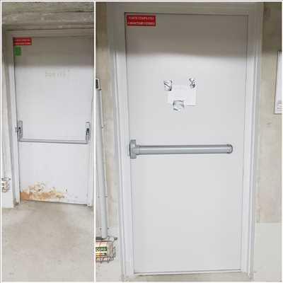 Photo de réparation de porte et de serrure n°2634 à Saint-Cloud par le réparateur Idsv maintenance
