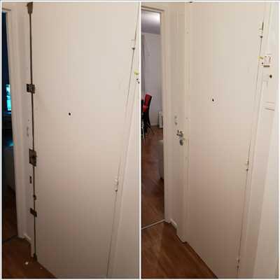 Photo de réparation de porte et de serrure n°2638 à Saint-Cloud par le réparateur Idsv maintenance