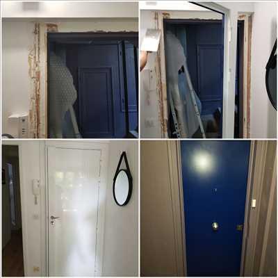 Photo de réparation de porte et de serrure n°2640 à Saint-Cloud par Idsv maintenance