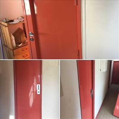 Photo de réparation de porte et de serrure n°2646 à Saint-Cloud par le réparateur Idsv maintenance