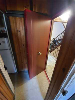 Exemple de réparation de porte d'entrée et de serrure n°2649 à Saint-Cloud par Idsv maintenance