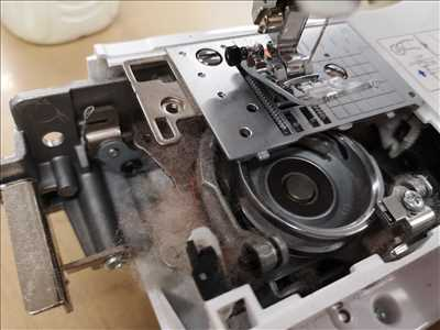 Photo de réparation de machine à coudre n°2668 à Perpignan par Broderie66