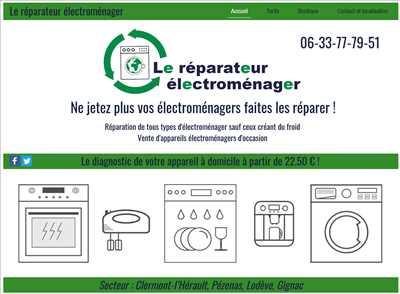 Exemple de réparation de matériel électroménager n°2749 à Clermont-l'Hérault par Le réparateur électroménager