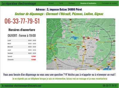 Exemple de réparation de matériel électroménager n°2753 à Clermont-l'Hérault par Le réparateur électroménager