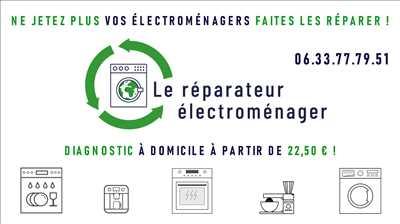 Photo de réparation d'électroménager n°2754 à Clermont-l'Hérault par le réparateur Le réparateur électroménager