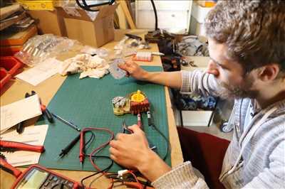 Photo de réparation d'électroménager n°2842 à Saint-Martin-d'Hères par le réparateur Valentin SYLLA