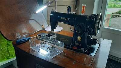 Exemple de réparation de machine à coudre électrique et électronique n°2849 à Albertville par L'atelier des Ninis