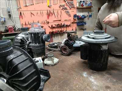 Exemple de réparation de pompe de filtration piscine n°2853 à Fréjus par VAREO ets Gay