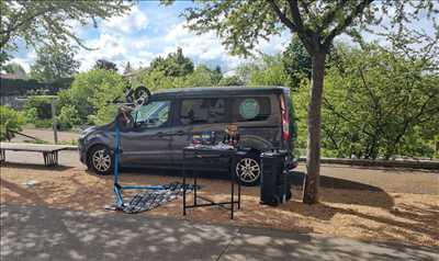 Exemple de réparation de bicyclette n°2857 à Lyon par Cyclomontdor