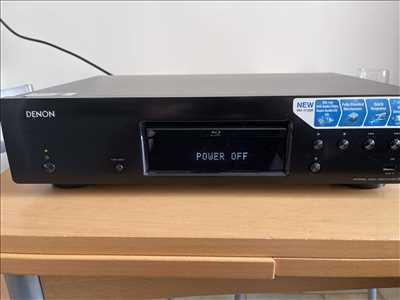 Exemple de Réparation de matériel hifi, matériel audio n°2861 à Échirolles par Marc