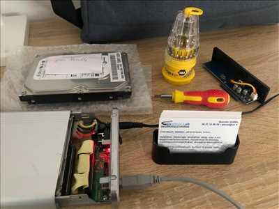 Exemple de réparation d'ordinateur n°2889 à Le Havre par Service Informatique Havrais