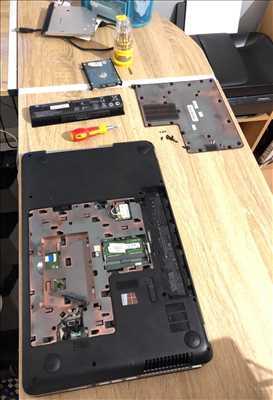 Photo de réparation informatique n°2890 à Le Havre par le réparateur Service Informatique Havrais