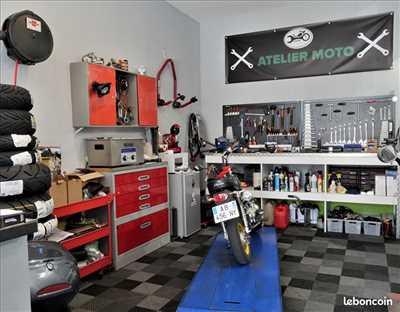 Photo de réparation de moto n°2928 à Hyères par ECO MOTO