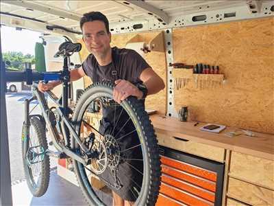 Exemple de réparation de bicyclette n°2937 à Grasse par O2 Roues