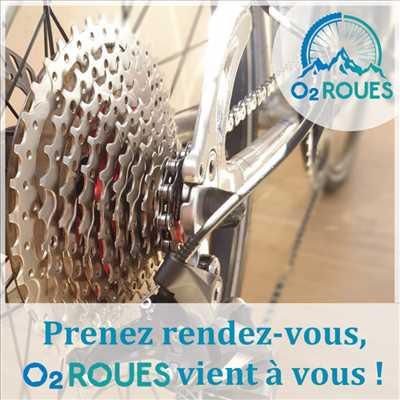 Photo de réparation de vélo n°2938 à Grasse par le réparateur O2 Roues - Atelier vélo mobile