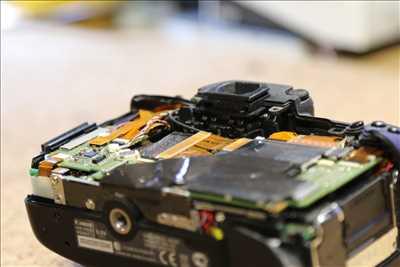 Exemple de réparation d'appareil photo numérique n°2949 à Plaisir par Espace reparation
