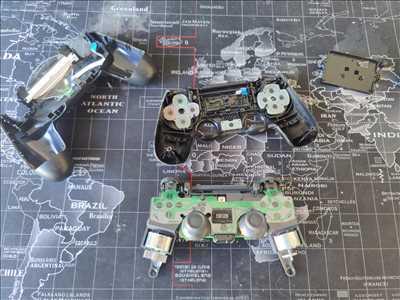 Exemple de réparation de console de jeux ancienne et récente n°2965 à Marseille par re-life