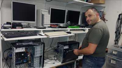 Photo de réparation d'ordinateur n°3007 dans le département 34 par LOG'IN Solutions