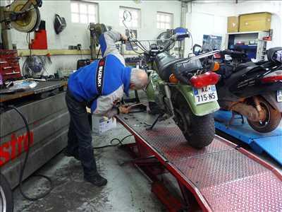 Exemple de réparation de moto utilitaire n°3045 à Paris 18ème par moto champion