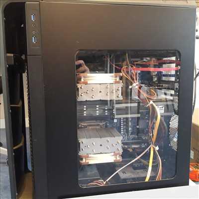 Exemple de réparation d'ordinateur n°3081 à Châteaubriant par AEI INFORMATIQUE