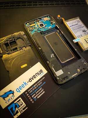 Exemple de réparation de smartphone n°3109 à Schiltigheim par Julien