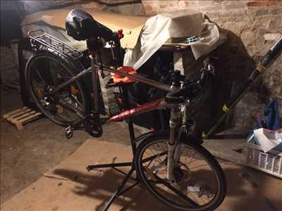 Photo de réparation de vélo n°3146 à Louviers par le réparateur Cycles Loveriens