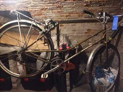 Exemple de réparation de bicyclette n°3149 à Louviers par Cycles Loveriens