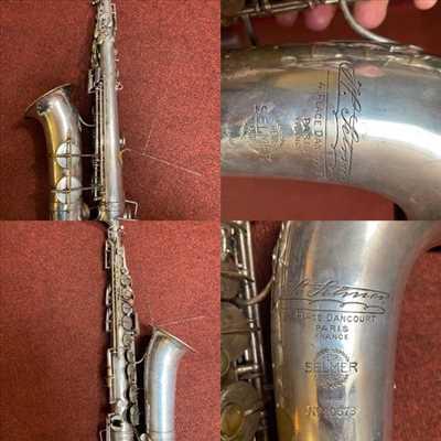 Photo de réparation d'instruments de musique n°3158 à Brest par le réparateur Atelier Des Cuivres et C°