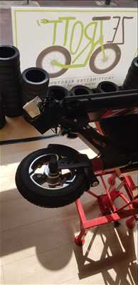 Exemple de réparation de trottinette électrique adulte et enfant n°3165 à Toulouse par ZE Trott Store Toulouse