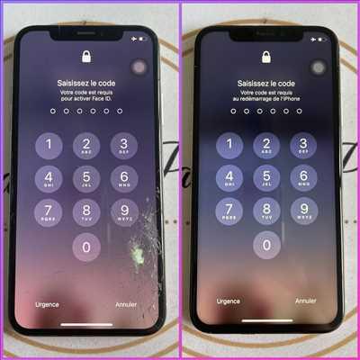 Exemple de réparation de smartphone n°3169 à La Ciotat par Réparation Iphone La Ciotat