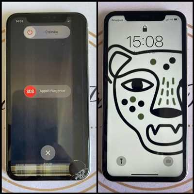 Exemple de réparation de smartphone n°3173 à La Ciotat par Réparation Iphone La Ciotat