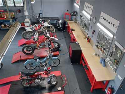 Exemple de réparation de moto utilitaire n°3285 à Pau par MotoMania