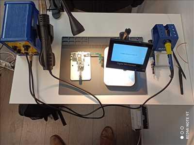Exemple de réparation de smartphone n°3329 à Massy par Hermann