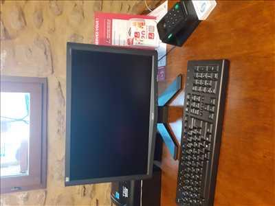 Exemple de réparation d'ordinateur n°3337 à Uzès par Atelier de réparations informatique
