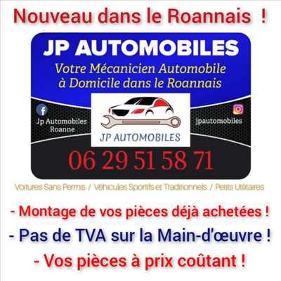Exemple de réparation d'auto n°3341 à Roanne par JP AUTOMOBILES ROANNE