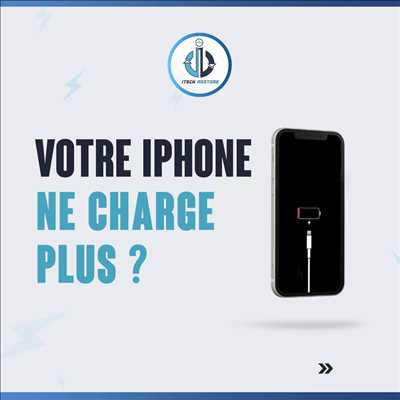 Photo de réparation de téléphone n°3350 à Hénin-Beaumont par le réparateur iTech Restore