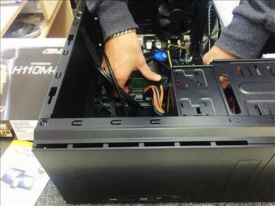 Exemple de réparation d'ordinateur n°3361 à Cannes par Ice Computer