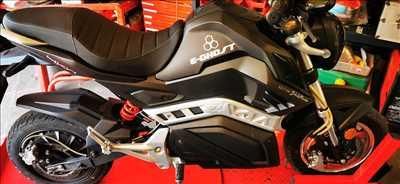 Photo de réparation de moto n°3370 à Antibes par le réparateur Electrowheel