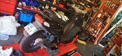 Exemple de réparation de moto utilitaire n°3373 à Vallauris par ELECTROWHEEL