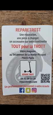 Photo n°3414 - réparateur de trottinette électrique