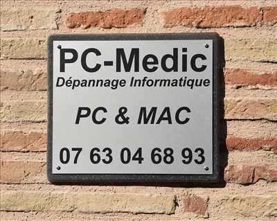 Photo de réparation et assistance informatique n°3440 à Gaillac par PC-Medic
