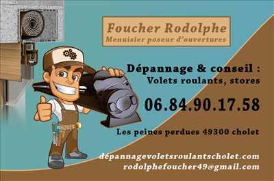 Photo de réparation d'un volet roulant n°3464 à Cholet par roro assistance